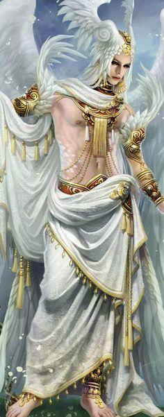 angel warrior concept