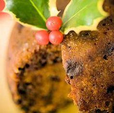 Sweet Potato Christmas Pudding