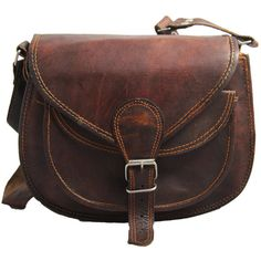 Leather Purse Gypsy style small ladies leather purse women leather... ($37) ❤ liked on Polyvore featuring bags, purses, accessories, brown, genuine leather satchel handbags, messenger bag, brown leather messenger bag, brown satchel handbag and black leather satchel