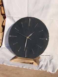 Wooden Clock, Aga, Slate, Facebook, Home Decor, Chalkboard, Decoration Home, Room Decor, Home Interior Design