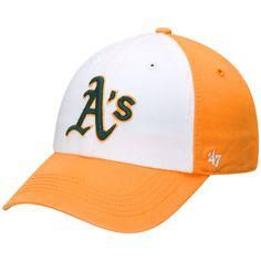 b0648a21d1c5a Men s Oakland Athletics  47 White Gold Freshman Franchise Fitted Hat