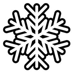Snowflake Coloring Page For Kids | EDUCATING... | Pinterest | Free ...