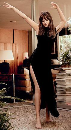 Dakota Johnson in Vogue 2015