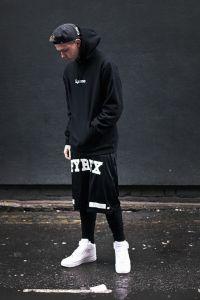 Street Goth x Pyrex Hip Hop Fashion, Fashion Moda, High End Fashion, Urban Fashion, Mens Fashion, Fashion 2018, Daily Fashion, Street Fashion, Street Goth