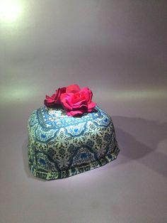 Paper box china blue