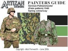 Resultado de imagen de ww2 german vehicle camouflage patterns