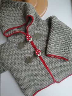 Baby sweater seen at julija's shop, pattern in new baby book by la droguerie …