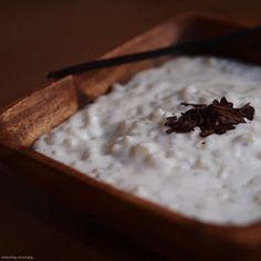 vanilková mléčná rýže