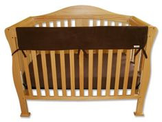#Trend-Lab #Crib Wrap Rail Guard Set of Two Short Rail Guards, Brown #Fleece   a real crib-saver!   http://amzn.to/HvKDXe