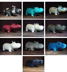 Home made hippo!    Yes, Please!!!!!!!!!!!!!!