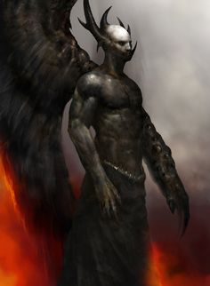 Fallen Archangel Samael by QuinnSimoes on DeviantArt