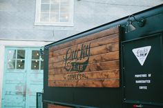 Branding Shoot: Lucky Lab Coffee Co. Food Cart Design, Food Truck Design, Coffee Van, Coffee Shop, Coffee Food Truck, Village Coffee, Catering Van, Coffee Trailer, Mobile Cafe