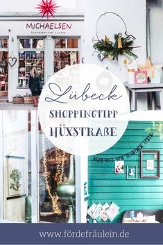 LÜBECK shopping tips - LÜBECK: Hüxstraße – individual & charming The pretty street is characterized by a large number - Familienfreundliche Hotels, Koh Lanta Thailand, Cozy Cafe, Travel Tags, Decorating Bookshelves, Surfing Pictures, Teen Room Decor, Restaurant, Scandinavian Living