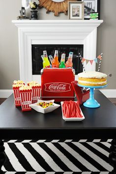 easy how to put together a quick and cute movie night for tweens