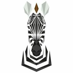Animal Alphabet - Mat Mabe Z for Zebra - Equus quagga Gorgeous, endangered horse-like mammal of Africa, famed for his black and white striped coat and mohican mane. Geometric Art, Animal Art, Geometric Art Animal, Geometric Animals, Art Drawings, Geometric Drawing, Animal Alphabet, Art, Zebra Art