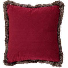 Red Velvet Kiruna Cushion 45x45cm Bonfire Night, Tk Maxx, Fairy Lights, Red Velvet, Cushions, Colours, Throw Pillows, Interior Design, Breeze