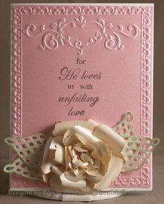 Heartfelt Creations rose