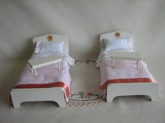 Halls Lifetime Toys Doll Furniture  Breakfast in Bed  by TheToyBox