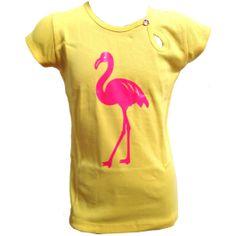 Yellow it is! Tapete kinderkleding t-shirt geel - Kinderkleding online #sale #kidsfashion #kinderkleding #tapete