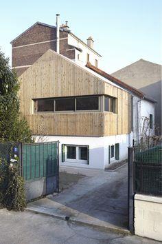 Rénovation et extension d'une maison par Fabien Gantois Architectures - (93) France