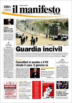 il manifesto 2013.11.06 - PRIMA PAGINA