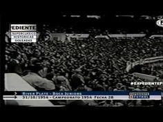 31/10/1954. Primera División. Fecha 28. River Plate - Boca Juniors (Resu...