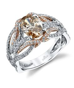Engagement & Wedding Humor 0.52 Cts 18k White Gold Diamond Halo Engagement Ring Setting With Halo Consumers First