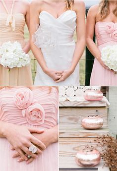 2014 Wedding Color Schemes -Blushing Wedding in Blush Pink -InvitesWeddings.com