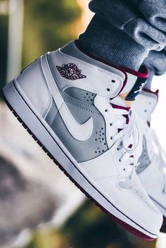 >>>Cheap Sale OFF! >>>Visit>> Air Jordan 1 get a 19 point step-by-step guide on spotting fakes on goVerify. Sneakers Fashion, Fashion Shoes, Sneakers Nike, Mens Fashion, Summer Sneakers, Adidas Shoes, Grey Sneakers, Adidas Nmd, Runway Fashion