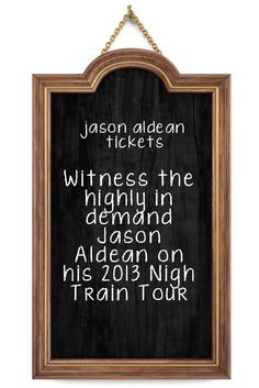 concerts tickets country folk jason aldean