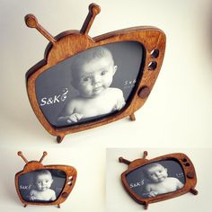 "Table frame for photo 5"" x 6"" #frame #frames #photoframe #handmade #tableframe #woodenphotoframes #woodframe #retro #tv"