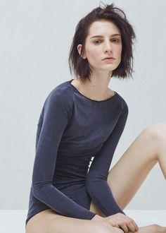 PREMIUM - Cupro bodysuit