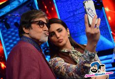 On The Sets of Aaj Ki Raat Hai Zindagi -- Amitabh Bachchan and Huma Qureshi Picture # 320247