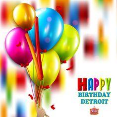 Happy 314th Birthday Detroit!
