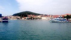 Tuesday 19th July 2016: arrived in beautiful Split, Croatia