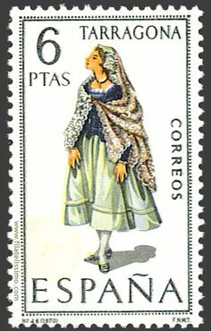Collection of Spanish stamps:  1970 Tarragona