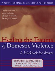 workbook for women suffering from PTSD as a result of DV. Very helpful and well worth the time and money.