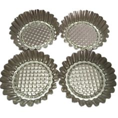 Set of 20, MYStar 3-3/4 Fluted Design Round Shape Non-stick Aluminum Tart Mold, Mini Pie Tin, Tartlet Pan ** Quickly view this special deal, click the image : Baking essentials
