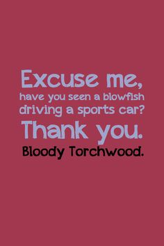 Bloody Torchwood by inkandstardust.deviantart.com on @deviantART