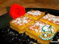 Апельсиновые квадратики - кулинарный рецепт