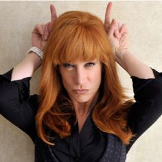 Kathy Griffin - a nasty piece of work - but hilarious!