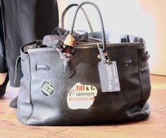Jane Birkin's Birkin bag #Hermes