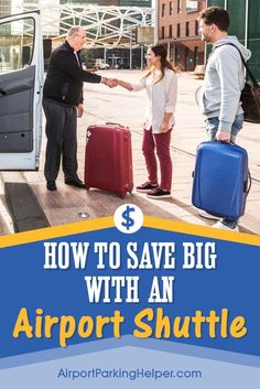 Click to learn how to save money by using an airport shuttle service instead of parking at the airport. With this mode of airport transportation you keep more cash in your pocket, and your car stays safely at home. Airport shuttle services and airport car
