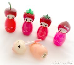 Tony Moly Fruit Princess lip gloss [Love this! Thank you so much, my sweet, sweet @Vicki Bakeman Sugarpink <3]