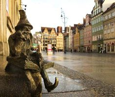 Wroclaw, Poland .... one of 24 dwarves around Wroclaw to find :)