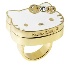 Solid Perfume Ring ($29) – Add a chic – and fragrant – touch to any ensemble with this Solid Perfume Ring in the iconic Hello Kitty shape.