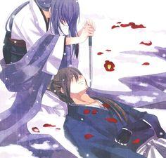 rurouni kenshin, kenshin himura, tomoe yukishiro