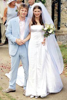 British chief Jamie Oliver married former model Juliette Norton in July 2000.