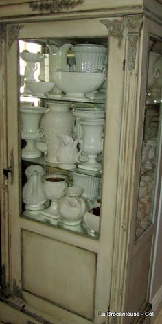 White collection~could it be ironstone?? omg!!