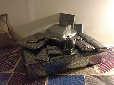 aus gegebenem anlass  x-mas wrapping  ww pattern by josef hoffmann